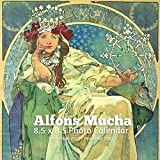 Alphonse Mucha 8.5 X 8.5 Calendar September 2021 -December 2022: Art Nouveau - Monthly Calendar with U.S./UK/ Canadian/Christian/Jewish/Muslim Holidays- Art Paintings
