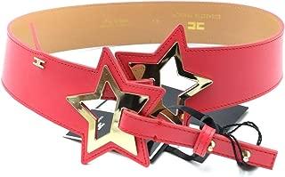 Luxury Fashion | Elisabetta Franchi Womens MCBI39226 Red Belt | Season Outlet