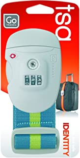 Go-Travel Sentry Luggage Strap, Assorted, 342
