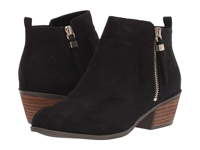 Dr. Scholls  Brianna (Black Microfiber) Womens  Boots