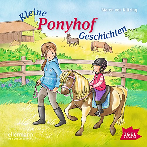 Kleine Ponyhofgeschichten audiobook cover art