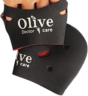 [NICE-SHOP]かかとケア靴下 Olive Doctor Care