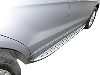 VANGUARD VGSSB-0812AL Aluminum Running Board Compatible with 12-18 Mercedes Benz ML, GLE Class W166