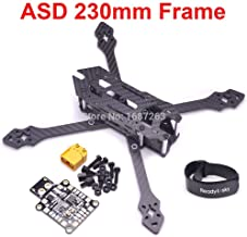 Accessories ASD 230 230mm 5 inch Truex Carbon Fiber Frame Kit with 5mm arms for XBEE FPV Racing Drone Quadcopter - (Color: Without PDB)