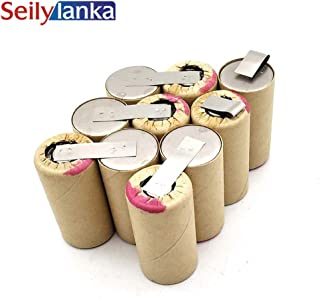 Seilylanka 3000mAh for Dirt Devil 12V Ni MH Battery pack CD vacuum cleaner M133 AK003A for self-installation M 133