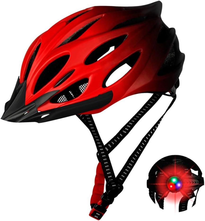 Adjustable Head Circumference Bicycle Helmet for Mountain Bike//Road Bike Vent Design Unisex Bike Helmet for Men and Women Impact Resistant Cycle Helmet Lightweight Cycling Safety Helmet