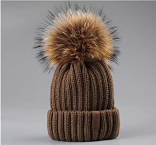 ca570d915de8a Winter Pompom hat for Kids Ages 2-7 Knit Beanie Winter Baby hat for Children