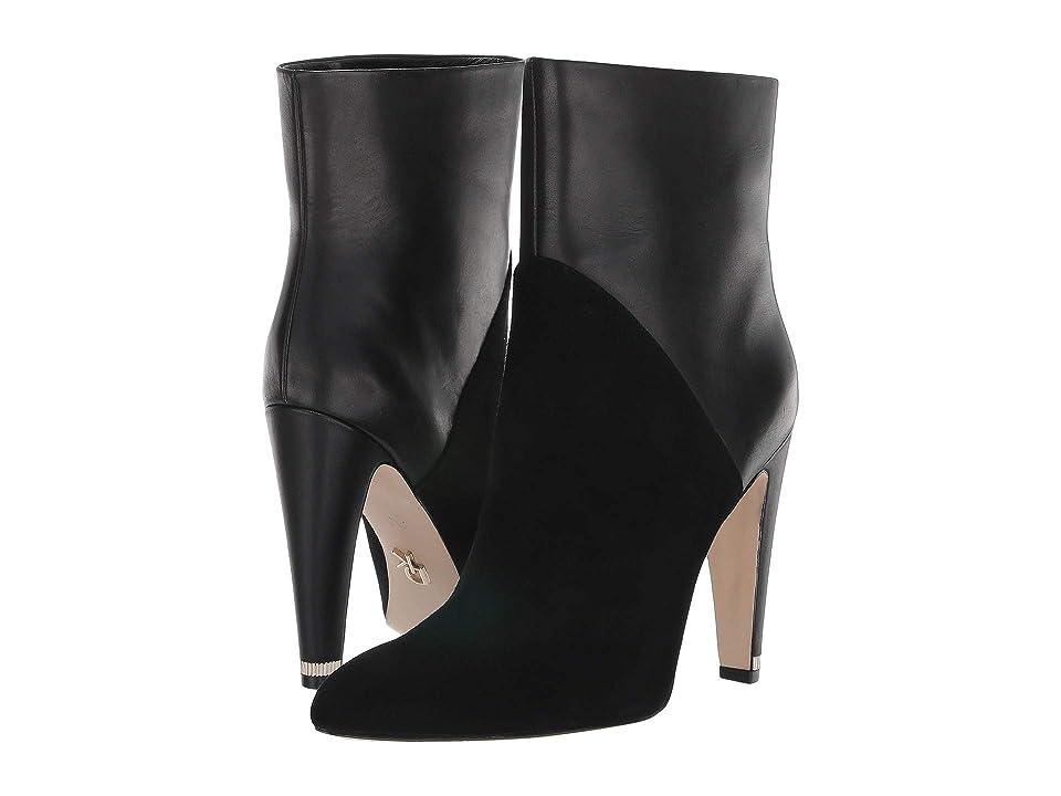 Donna Karan Hadi Ankle Bootie (Black) Women