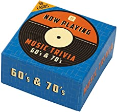 Talking Tables   Christmas Gifts, Christmas Games   Music Trivia 60s 70s   Great For Christmas, Secret Santa, Dinner Party And Birthday Gifts
