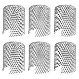 Friusate - Juego de 6 filtros de aluminio para canalones
