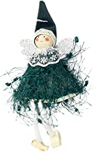 Snowlike Christmas DecorationLovely Christmas Tree Decorations Woolen Yarn Angel Doll Pendant Hanging Party,Xmas Gift