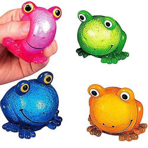 German Trendseller® - Frosch aus Wolken Glibber ┃ Achtung!!! Extrem Süchtig machender Glibber Frosch