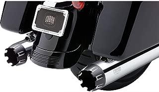 COBRA 06-16 Harley FLHX2 NH Series Dual Cut Exhaust (Chrome / 4