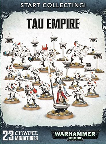 Games Workshop 99120113055 Warhammer 40.000 Tau Empire, Sammelspiel-Starterpaket (in englischer Sprache)