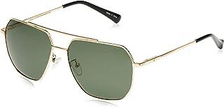 ريترو نظاره شمسيه للرجال - لون اخضر