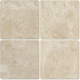 Cappuccino Marble 6 X 6 Tiles, Tumbled (Sample)