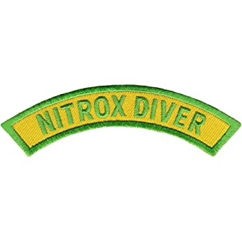 CERTIFIED DIVER CHEVRON SCUBA DIVING iron-on DIVE PATCH embroidered applique