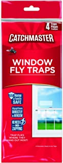 Catchmaster 904 Bug & Fly Clear Window Fly Traps - 3 Packs of 4 Traps