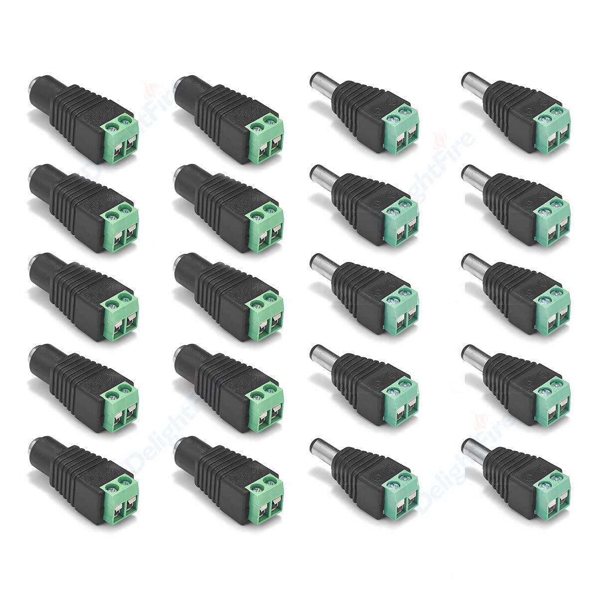 KIMLLOYD Ranking TOP19 5-100pcs Female Male Manufacturer OFFicial shop DC 5.52.1mm 5V Jack Connectors