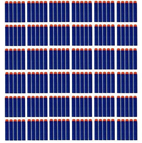 Koedu queenshiny 7.2cm Blue Foam 100 Stück Dart für Nerf N-Streik Elite Series Blasters Spielzeugpistole