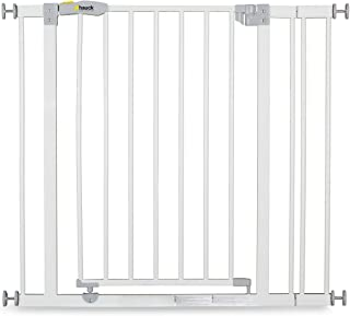 Hauck Open'N Stop Safety Gate, 75-80 cm + 9 cm Extension, White