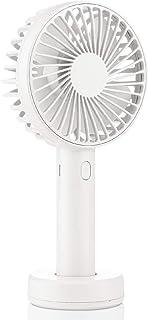 AairHut 携帯扇風機 驚きの風量【羽根は清掃可能】2500mAh大容量3段階調節 手持ち ミニ扇風機 熱中症対策H2