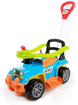 Carrinho com Chassis Jip Jip, Maral, Multicor