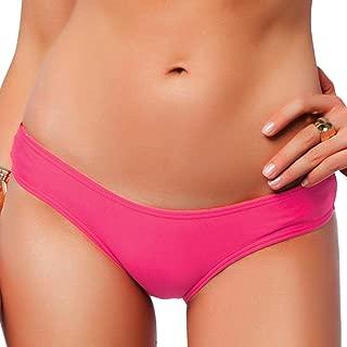 Sexy Brazilian Bikini Bottom for Women V Cheeky T-Back Booty Solid Classic Ladies Swimsuit S M L XL