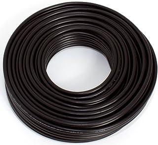 Luidsprekerkabel 2x2,50mm2- audiokabel - boxkabel 2,50mm2-10m zwart