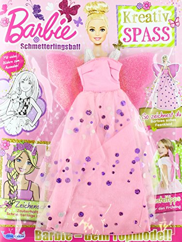 Barbie KreativSPASS Magazin Nr.16/2018 - Schmetterlingsball