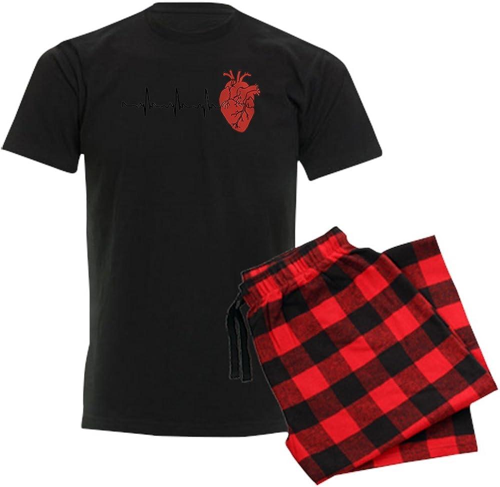 CafePress Heart Cardiograph Pajama Set
