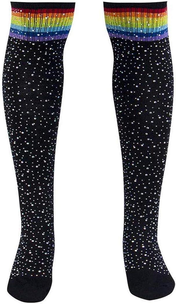 ELABEST Rhinestone Thigh High Socks Finally resale start Over Knee NEW before selling ☆ Sto Pantyhose Warm