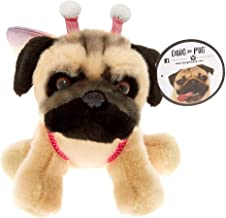 Claire's Doug The Pug Girl's Doug The Pug Medium Butterfly Plush Toy