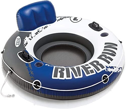 "2021 Intex River Run I Sport Lounge, Inflatable Water popular Float, 53"" popular Diameter sale"