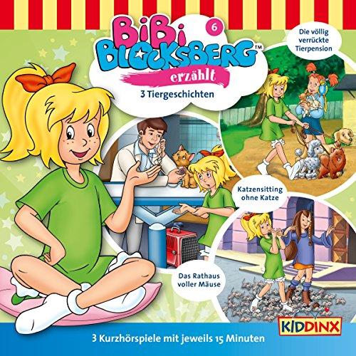 3 Tiergeschichten (Bibi Blocksberg erzählt 6) Titelbild