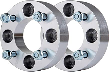 - 4/156 mm bolt pattern 1 Pair See Fitment SuperATV Heavy Duty 1 Aluminum Wheel Spacers for Polaris Ranger XP 1000 / Crew/Diesel
