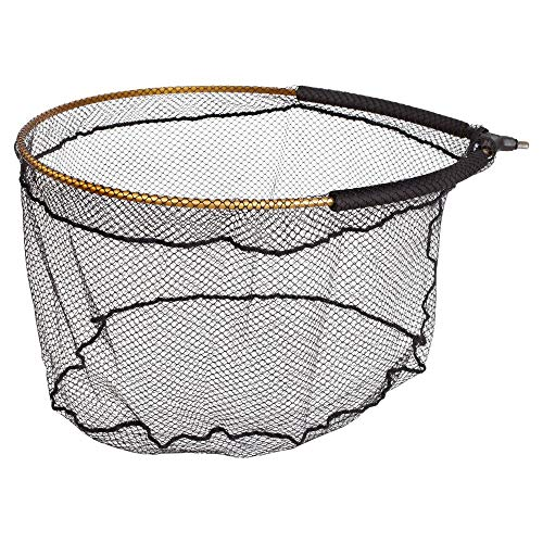 Browning Kescherkopf Gold Net-Red de Pesca (60 cm, 50 cm, 35 cm, 8 x 8 mm), 1, Extra-Large