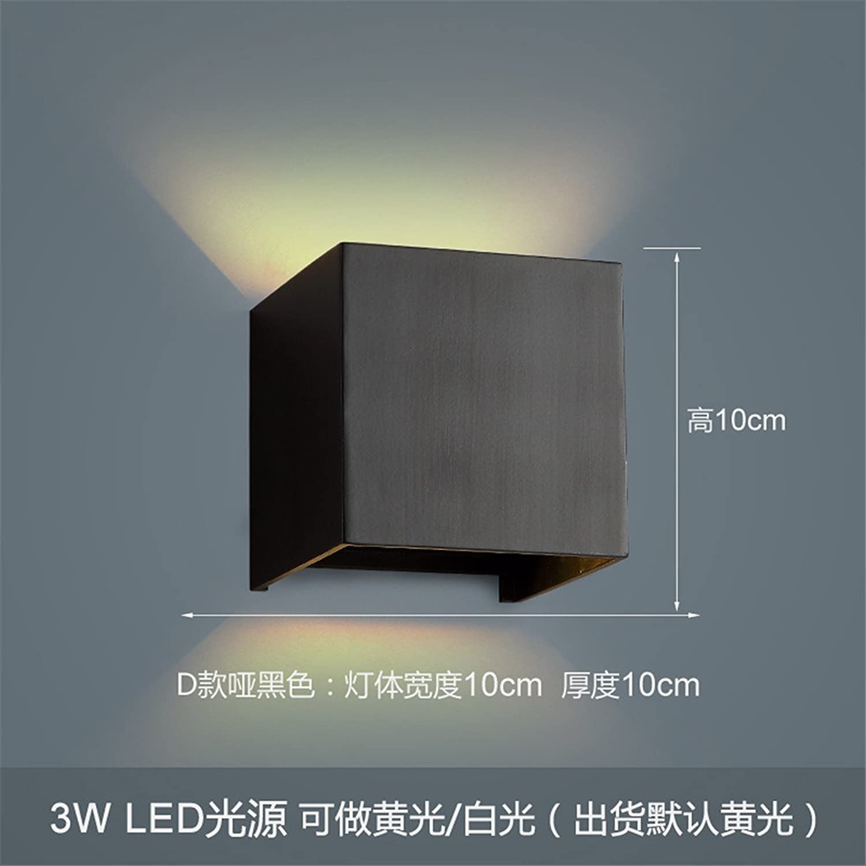StiefelU LED Wandleuchte nach oben und unten Wandleuchten Led-wand Lampe Nachttischlampe balkon Treppe Wand lampe Schlafzimmer Wand Kunst