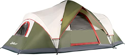 QUICK-UP 6 Person Tents for Family Camping, Quick Easy...