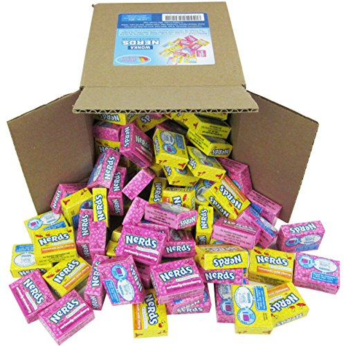 Nerds Candy - Wonka Nerds - Bulk Candy - 6x6x6 Family Size