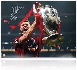 James Milner Signed Liverpool Photo: 2019 Champions League Winner | Autographed Memorabilia