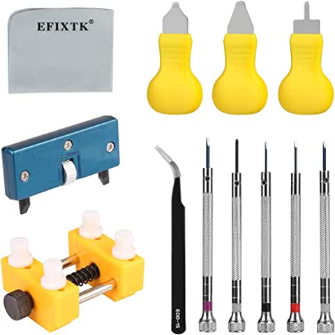 Efixtk Watch Battery Replacement Tool Kit