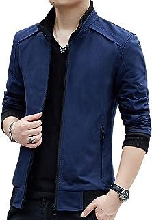 Womleys Mens Casual windbreaker ملابس خارجية قطنية خفيفة الوزن