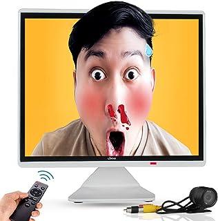 17インチ 絶妙なモニター 超薄型ホワイト PC 液晶ディスプレイ CCTVカメラ IPS 1280x1024フルHD マッチング監視カメラ 多機能接続HDMI、AV、BNC、VGA、USB 入力をサポートします 日本語メニュー