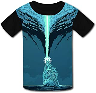 Elcacf Kids//Youth Shake Bake Graphic T-Shirts Short Sleeve Children Tees