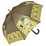 Von LILIENFELD Paraguas Automática Mujer Motivo Arte Gustav Klimt: El Beso