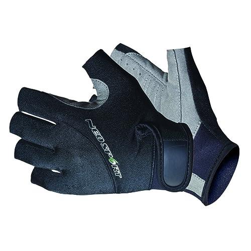 Blue//Black New O/'Brien Pro Skin Gloves