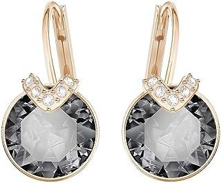 SWAROVSKI Women's Bella V Earrings Collection, Gray...