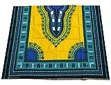 raanpahmuang afrikanischen Dashiki Farbe Baumwolle Stoff