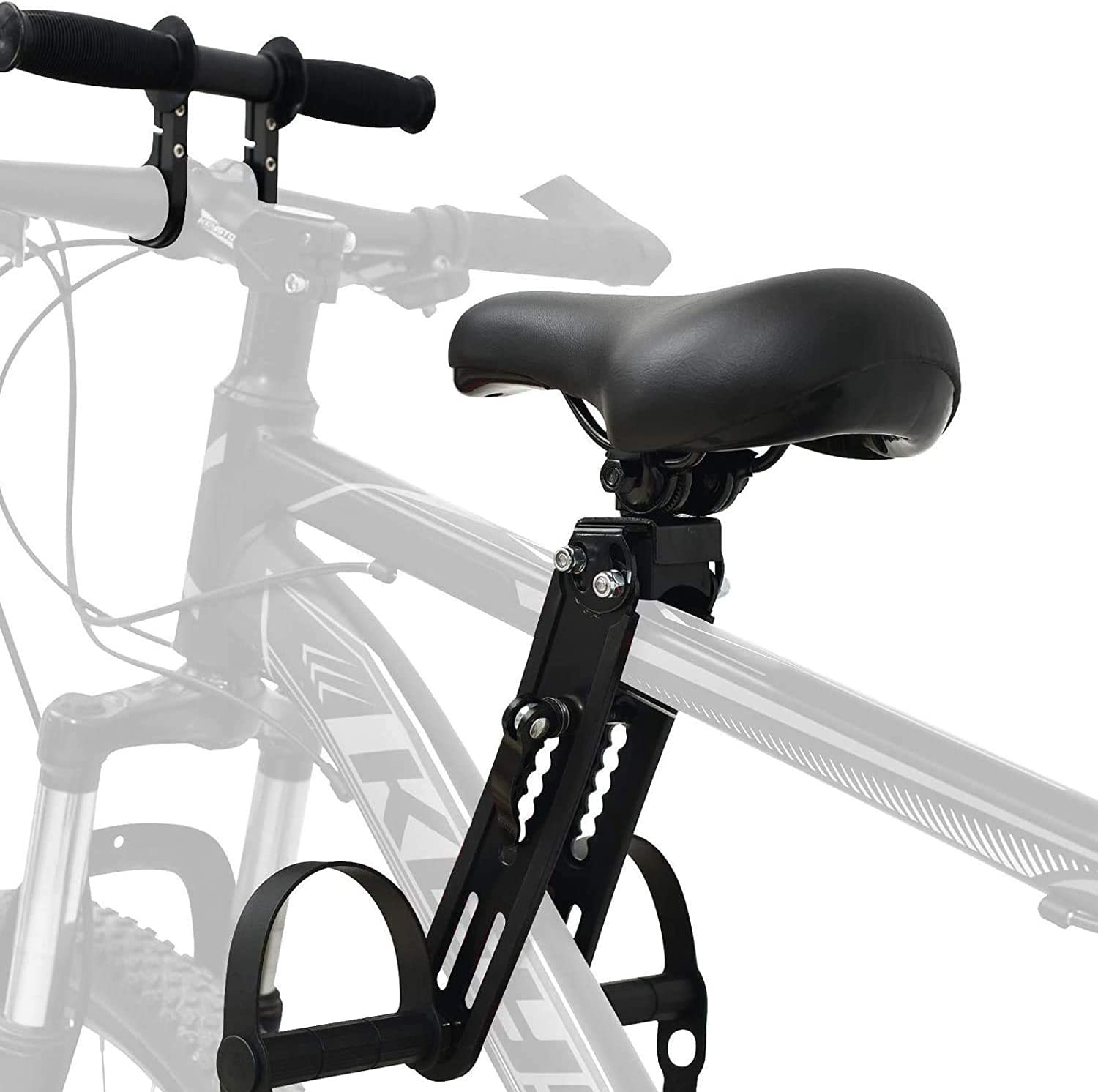 Kids Bike Seat for Mountain Bikes,Front Mounted Bicycle Seats for Children